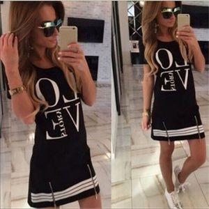 Dresses & Skirts - LOVE Story Dual Zip Dress